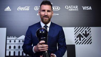صورة ميسي يفوز بجائزة أفضل لاعب في العالم لعام 2019