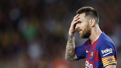 صورة ميسي قد يغيب عن برشلونة أمام خيتافي