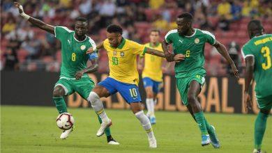 صورة التعادل الايجابي يحسم مباراة البرازيل والسنغال الودية