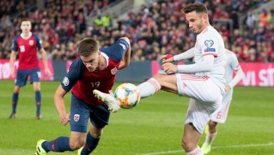 صورة النرويج تتعادل مع اسبانيا وايطاليا إلى نهائيات كأس الأمم الأوروبية 2020