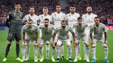 صورة تشكيلة ريال مدريد المتوقعة امام كلوب بروج بدوري الابطال