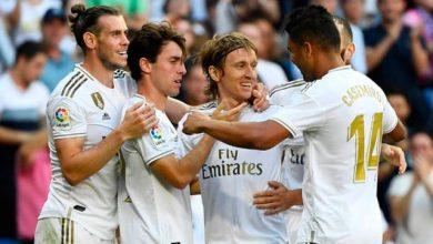 صورة ريال مدريد يواصل انتصاراته ويتخطى عقبة غرناطة برباعية