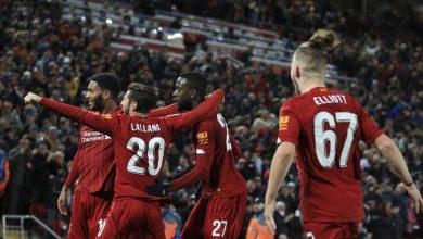 صورة نتيجة مباراة ليفربول وارسنال في كأس الرابطة الانجليزية