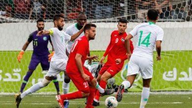 صورة التعادل السلبي يخيم على مباراة السعودية وفلسطين