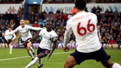 صورة ليفربول ينتزع فوزا ثمينا من أنياب أستون فيلا بالدوري الإنجليزي