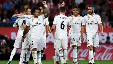 صورة قائمة ريال مدريد المستدعاة لمباراة الديربي