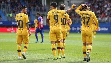 صورة برشلونة يخرج بفوز صعب من ملعب ليغانيس