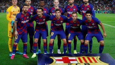 صورة تشكيلة برشلونة أمام أتلتيكو مدريد في مباراة اليوم