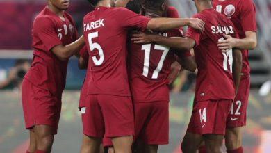صورة قطر تفوز على الامارات برباعية وتبلغ نصف نهائي خليجي 24