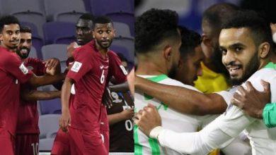 صورة موعد مباراة قطر والسعودية في نصف نهائي كأس الخليج 24 والقناة الناقلة