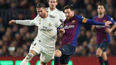 صورة تشكيلة برشلونة وريال مدريد في مباراة الكلاسيكو اليوم بالدوري الاسباني