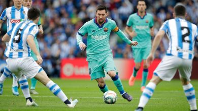 صورة ريال سوسيداد يفرض التعادل على برشلونة في الانويتا