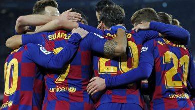 صورة تشكيلة برشلونة في مباراة اليوم أمام ألافيس بالدوري الإسباني