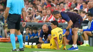 صورة ضربة قوية لبرشلونة.. سواريز يخضع لعملية جراحية