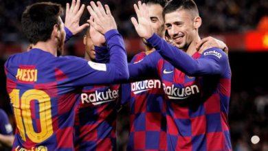 صورة برشلونة يكتسح ليغانيس بخماسية ويتأهل لربع نهائي كأس الملك