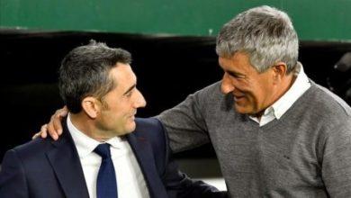 صورة رسميا.. إقالة فالفيردي وتعيين سيتين مدربا لبرشلونة