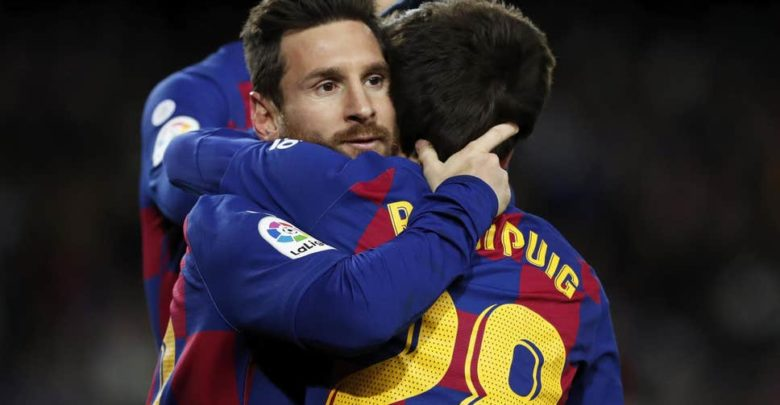 نتيجة مباراة برشلونة واتلتيكو مدريد اليوم