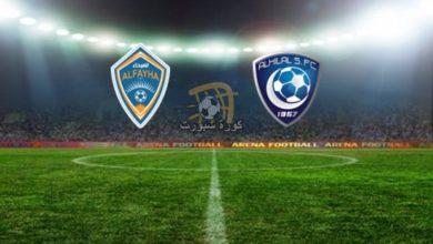 صورة موعد مباراة الهلال والفيحاء في الدوري السعودي والقنوات الناقلة
