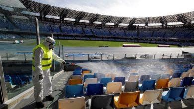 صورة رسميا.. منع الحضور الجماهيري للمباريات في إيطاليا لمدة شهر
