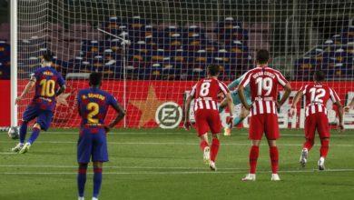 صورة برشلونة يتعادل مع أتلتيكو مدريد ويبتعد عن المنافسة على لقب الليجا