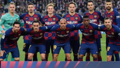 صورة تشكيلة برشلونة المتوقعة أمام أتلتيك بلباو