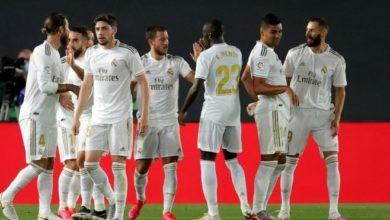 صورة تشكيلة ريال مدريد المتوقعة أمام ريال سوسيداد