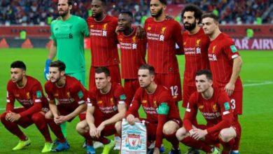 صورة تشكيلة ليفربول المتوقعة أمام كريستال بالاس