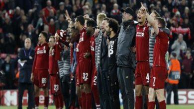 صورة ليفربول يتوج بطلاً للدوري الإنجليزي