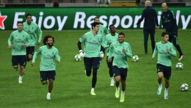 صورة تشكيلة ريال مدريد المتوقعة أمام غرناطة