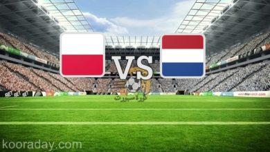 صورة نتيجة   مباراة هولندا وبولندا اليوم 4 سبتمبر 2020 بدوري الأمم الأوروبية
