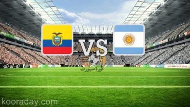 صورة نتيجة | مباراة الأرجنتين والإكوادور بث مباشر اليوم 9 أكتوبر 2020 في التصفيات المؤهلة لكأس العالم 2020