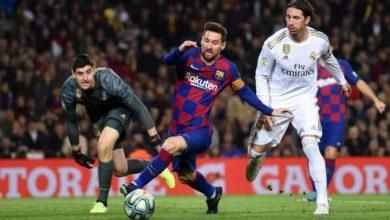 صورة تحديد موعد الكلاسيكو بين برشلونة وريال مدريد