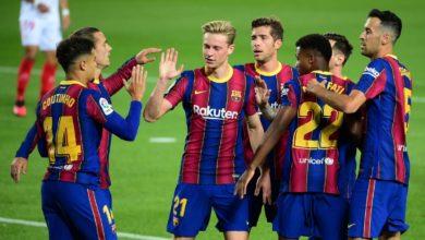 صورة موعد مباراة برشلونة وفيرينكافورس بدوري أبطال أوروبا والقناة الناقلة