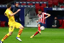 صورة أتلتيكو مدريد يفوز على برشلونة بهدف نظيف