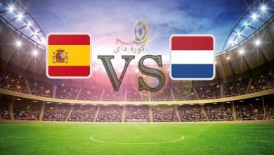 صورة نتيجة | مباراة إسبانيا وهولندا اليوم 2020-11-11 الودية