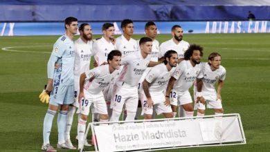 صورة تشكيلة ريال مدريد الرسمية لمباراة فالنسيا بالدوري الإٍسباني