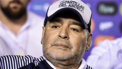 صورة وفاة الاسطورة مارادونا عن عمر يناهز 60 عاماً