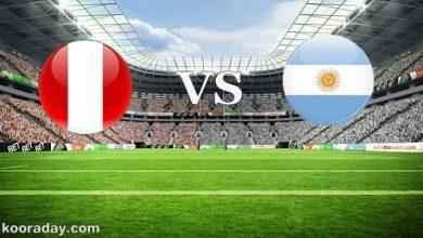 صورة موعد مباراة الأرجنتين وبيرو بتصفيات كأس العالم والقناة الناقلة