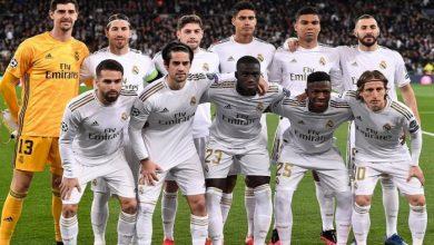 صورة تشكيلة ريال مدريد امام بوروسيا مونشنغلادباخ اليوم في دوري أبطال أوروبا