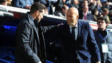صورة قبل الدربي.. زيدان يرشح أتلتيكو مدريد للفوز بالدوري الإسباني