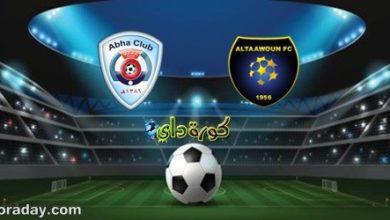 صورة موعد مباراة التعاون وأبها في الدوري السعودي والقنوات الناقلة
