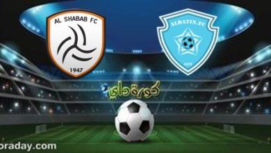 صورة موعد مباراة الشباب والباطن في الدوري السعودي والقنوات الناقلة
