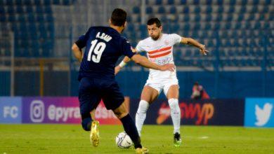 صورة بيراميدز يتعادل مع الزمالك في قمة الدوري المصري