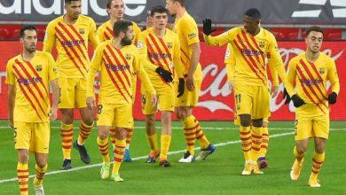 صورة تشكيلة برشلونة أمام كورنيلا اليوم في كأس ملك أسبانيا