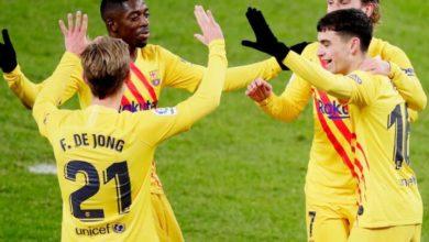 صورة تشكيلة برشلونة امام غرناطة في مباراة اليوم