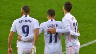صورة تشكيلة ريال مدريد أمام سيلتا فيغو في مباراة اليوم