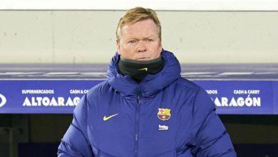 صورة كومان يؤكد إفتقاد فريقه إلى مهاجم صريح