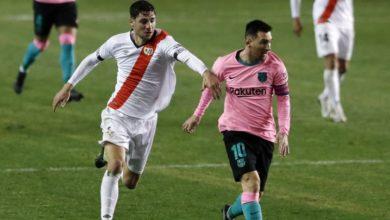 صورة برشلونة يفوز على رايو فاليكانو بهدفين في كأس ملك إسبانيا