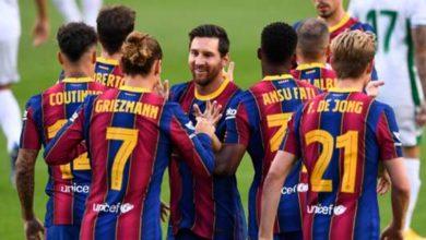 صورة تشكيلة برشلونة ضد ريال بيتيس في مباراة اليوم