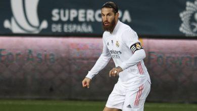 صورة راموس قريب من الاتفاق مع ريال مدريد على تجديد تعاقده